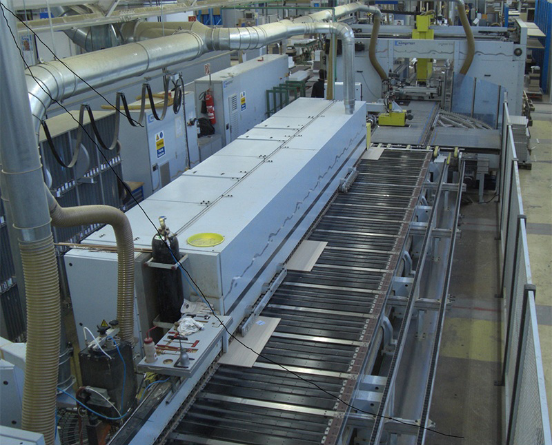 Pfannenberg Process Chillers used for Cooling Edge Banding
