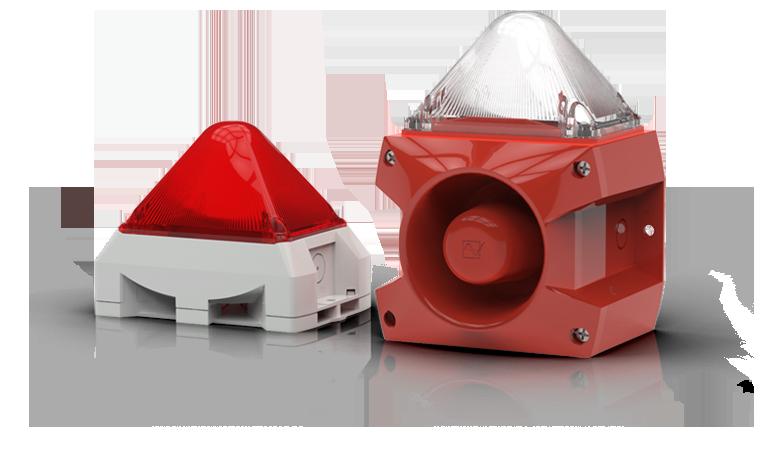 Pfannenberg PAB 100 signal d/'alarme Alarmhupe Sirène avec flash 23050103000